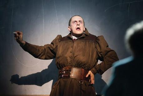 Charles Brunton as Ms. Trunchbull in Matilda the Musical