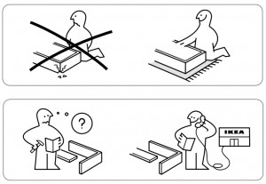 ikea flaxa bed assembly instructions